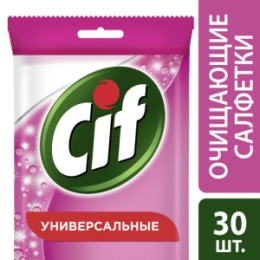 CIF CIF Салфетки влажные для очищения поверхностей Универсальные 30шт