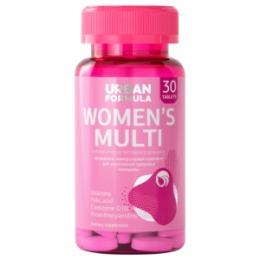 Urban Formula Urban Formula Women's Multi / Биологически активная добавка к пище «Витаминно-минеральный комплекс для женщин от А до Zn»
