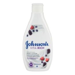 Johnson`s JOHNSON'S VITA-RICH Восстанавливающий лосьон для тела с экстрактом малины 250 мл