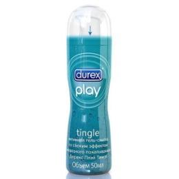 DUREX DUREX Гель-смазка интимная Play Tingle с эффектом морозного покалывания 50мл