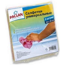 PACLAN PACLAN Салфетки для чистки Practi нетканное полотно 38*38см 3шт