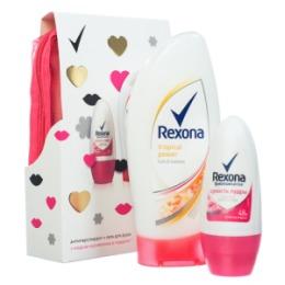 Rexona ПН 16-17 REXONA Be Sexy дезодорант Сухость пудры 50мл гель для душа Тропический заряд 250мл косметичка