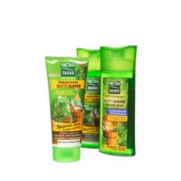 Чистая Линия ПН 16-17 ЧИСТАЯ ЛИНИЯ Эффект бани шампунь 250мл бальзам-маска для волос 200мл гель для душа 250мл