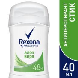 Rexona REXONA Антиперспирант-карандаш женский Алоэ Вера 40мл