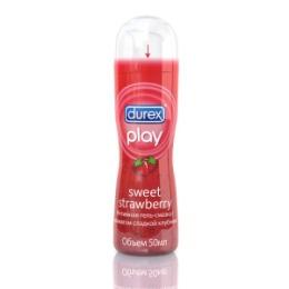DUREX DUREX Гель-смазка интимная Play Sweet Strawberry с ароматом сладкой клубники 50мл