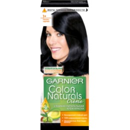 Garnier GARNIER Краска для волос Color Naturals 1 Ультра черный