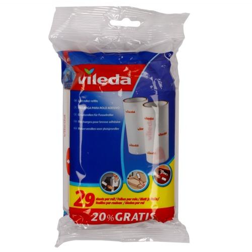 Vileda ВИЛЕДА Сменные блоки к ролику для одежды 2 шт.