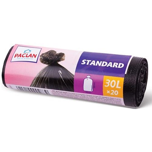 PACLAN PACLAN Мешки для мусора STANDART 30л 20шт