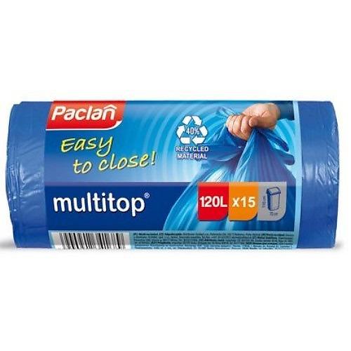 PACLAN PACLAN Мешки для мусора MULTI-TOP 120л 15шт