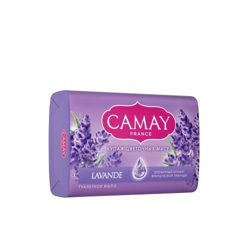 CAMAY CAMAY Мыло туалетное Французская лаванда 85г