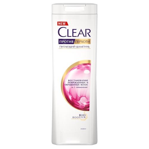 CLEAR CLEAR CARAT Шампунь против перхоти для женщин Восстановление окрашенных волос 400мл