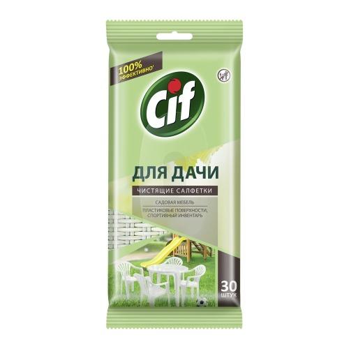CIF CIF Чистящие салфетки для Дачи Универсальные 30шт