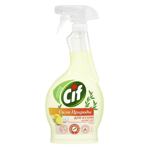 CIF CIF Чистящее средство для кухни Сила Природы 500мл