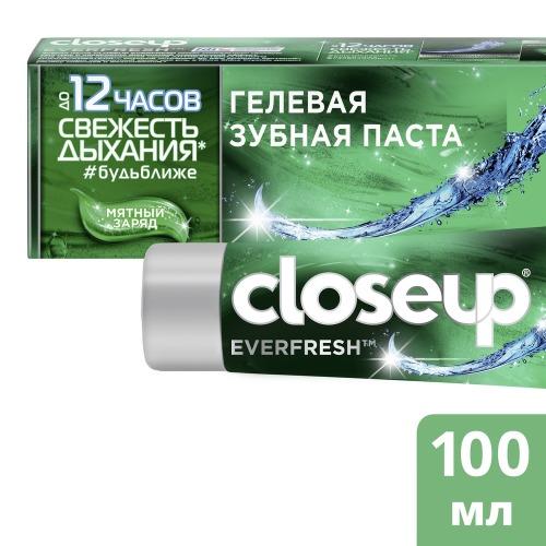 CLOSEUP CLOSEUP Зубная Паста Мятный Заряд 100мл