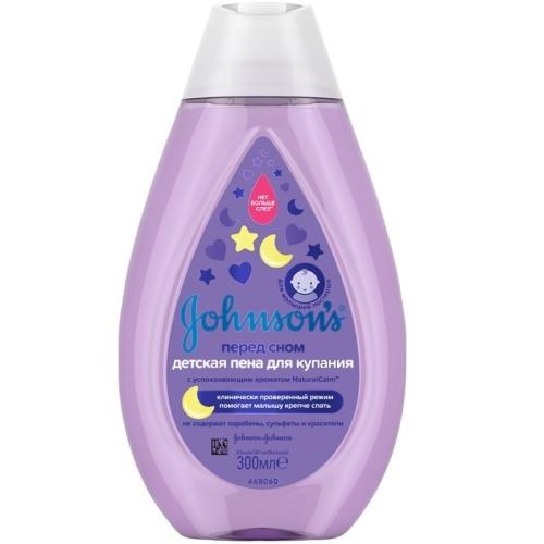 Johnson`s baby Johnson's Детская пена для купания Перед сном 300мл