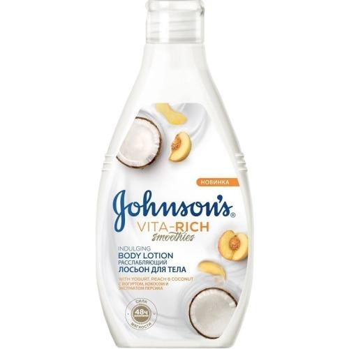 Johnson`s Johnson's VITA-RICH СМУЗИ Ухаживающий Гель для душа с йогуртом, овсом и медом 250 мл
