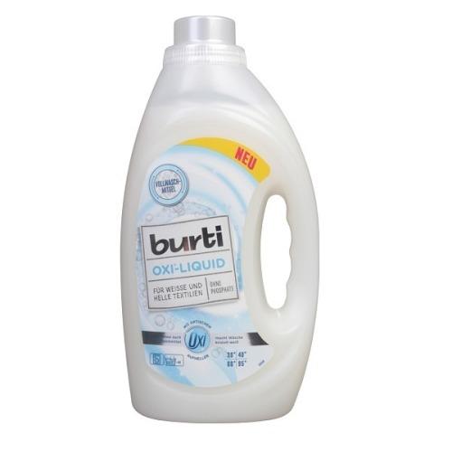 BURTI BURTI OXI Средство синтетическое жидкое для стирки белого и светлого белья 1.45 л