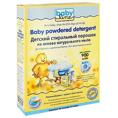 BABYLINE BABYLINE Детский стиральный порошок на основе натурального мыла 900гр