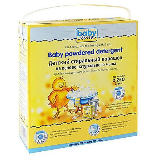 BABYLINE BABYLINE Детский стиральный порошок на основе натурального мыла 2250гр