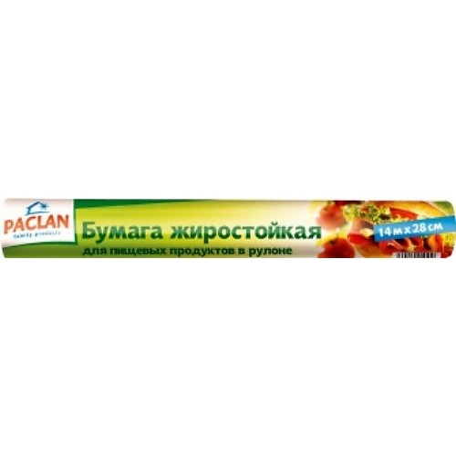 PACLAN PACLAN Бумага жиростойкая упак.14м*28см рулон