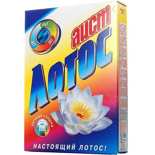 АИСТ АИСТ Стиральный порошок ЛОТОС 400г