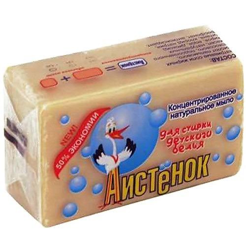 АИСТ АИСТ Хозяйственное мыло Аистенок детское в обертке 200г