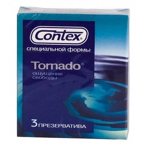 Contex CONTEX Презервативы №3 Tornado специальной расширяющейся кверху формы