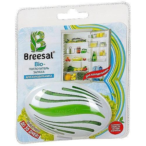 BREESAL Breesal Био-поглотитель запаха для холодильника 80 г