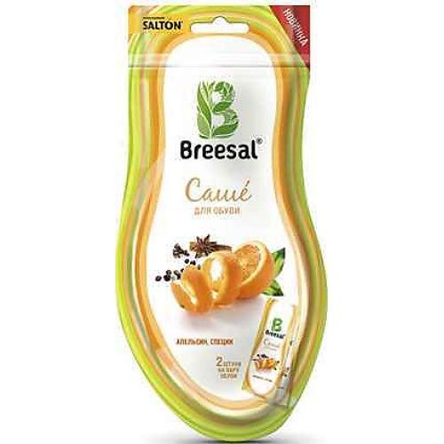 BREESAL Breesal Ароматическое саше для обуви Цитрусовая свежесть 20г