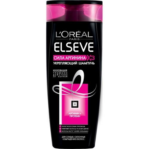 L'Oreal Paris LOREAL ELSEVE Шампунь для волос Сила аргинина 250мл