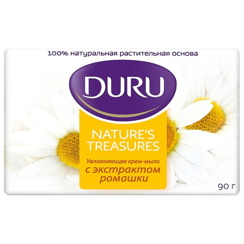Duru DURU NATURE'S TREASURES Мыло Ромашка 90г