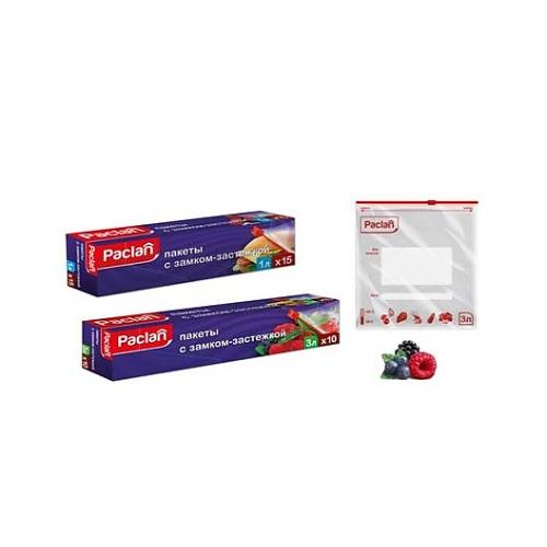 PACLAN PACLAN Пакеты с замком-застежкой 22Х18см 1л 15 шт.