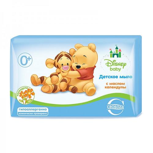 Disney baby Disney baby Туалетное мыло с маслом календулы в обертке 100г