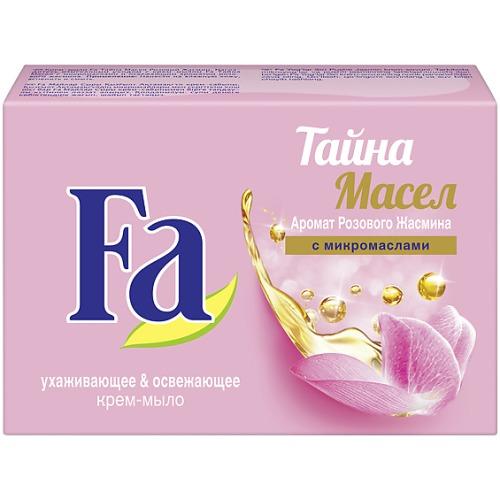Fa Fa Крем-мыло Кусковое Тайна масел Розовый жасмин 90г