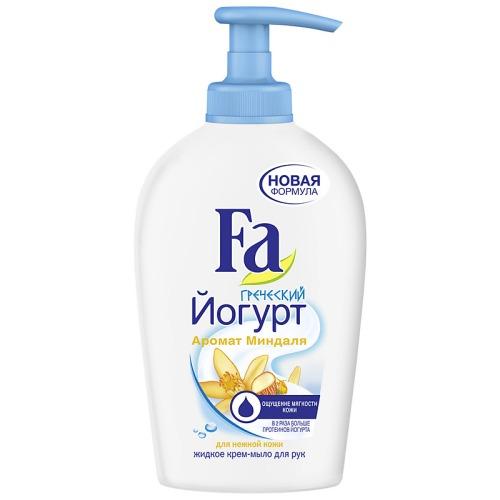 Fa FA Жидкое крем-мыло Греческий Йогурт Миндаль 250мл