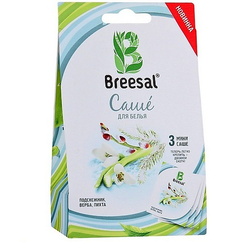 BREESAL Breesal Ароматическое мини-саше Созерцание 19,5г