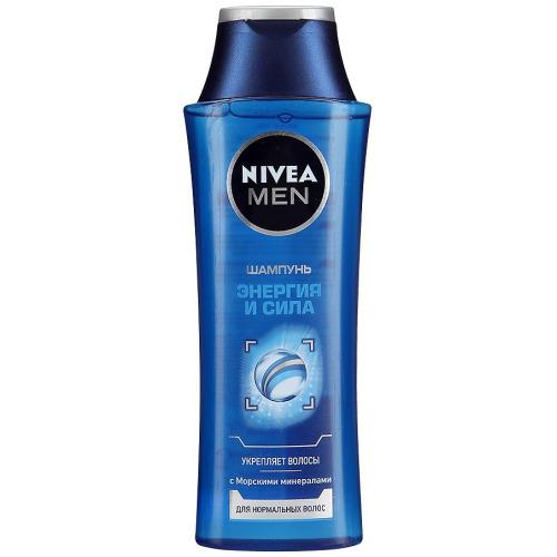 NIVEA NIVEA Шампунь для нормальных волос для мужчин Энергия и сила 250мл