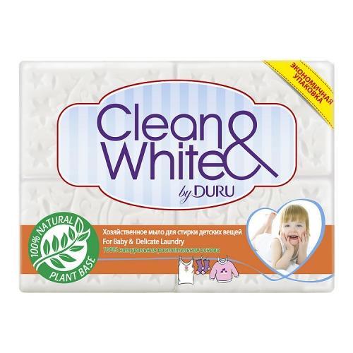 Duru DURU CL&WH Хозяйственное мыло Детское 4*125г