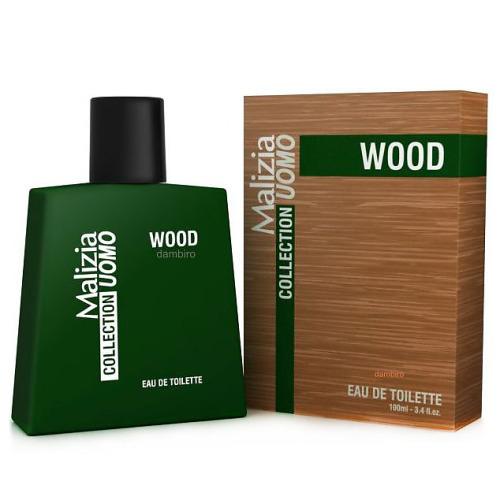 Malizia Malizia Туалетная вода Wood мужская 100 мл