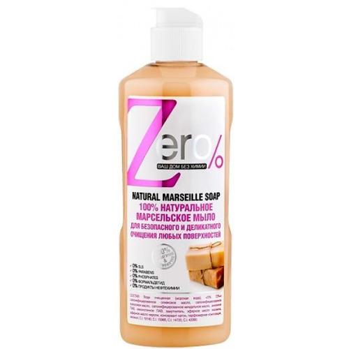 ZERO ZERO Мыло для очищения всех поверхностей марсельское 500мл