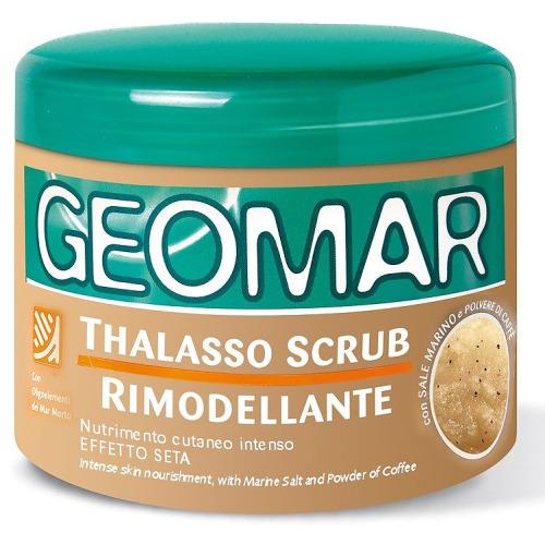 GEOMAR GEOMAR Талассо-скраб моделирующий с гранулами кофе 600 гр.
