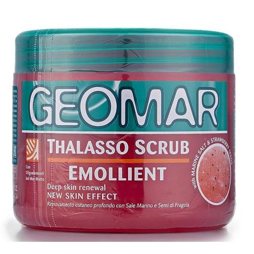 GEOMAR GEOMAR Талассо-скраб смягчающий с гранулами клубники 600 гр.