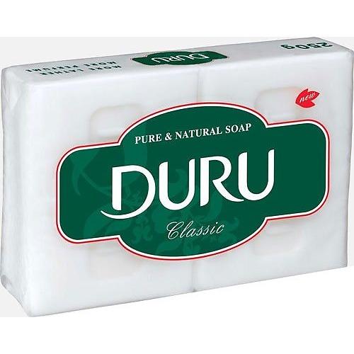 Duru DURU CL&WH Хозяйственное Мыло Универсальное 2*125г