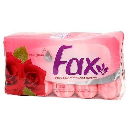FAX FAX Мыло с глицерином Роза э/пак 5*70г