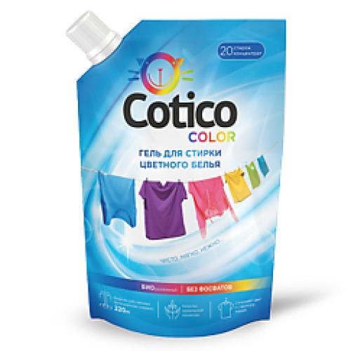 COTICO COTICO Гель для стирки цветного и линяющего белья дой-пак 1л