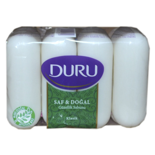 Duru DURU PURE#amp;NAT Мыло Класс э/пак 4*85г