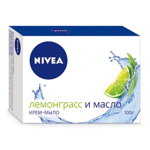 NIVEA NIVEA Мыло Лемонграсс и масло 100гр