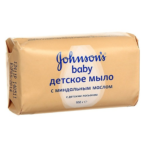 Johnson`s baby Johnson's baby мыло с миндальным Маслом 100г