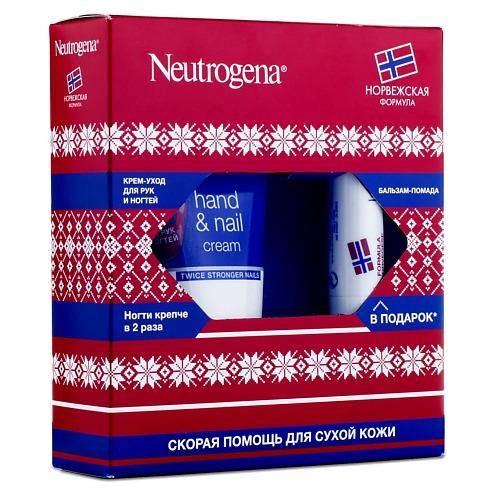 Neutrogena Neutrogena Норвежская формула ПН Крем-уход для рук и ногтей 75мл Бальзам-помада 4,8г в подарок