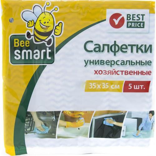 BEESMART BEESMART Салфетки универсальные перфор. 35х35см 5 шт.
